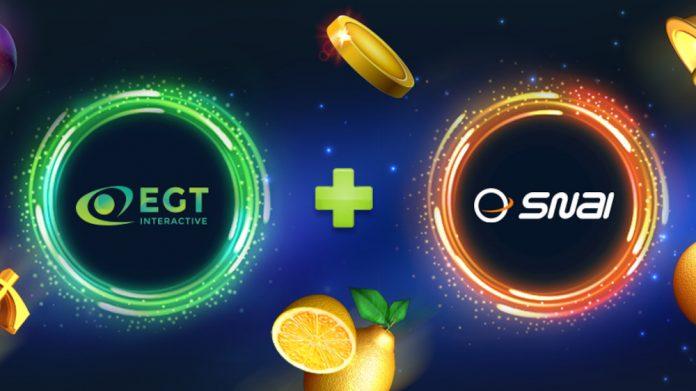 EGT Interactive Snaitech partnership