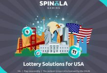 Spinola Gaming US lottery partners Connex management