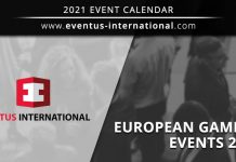 European Gaming Events 2021 Eventus
