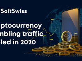 SoftSwiss Game aggregator cryptocurrency gambling traffic increase 2020