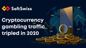 SoftSwiss Game aggregator cryptocurrency gambling traffic increase 2020