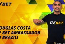 LV Bet ambassador Douglas Costa