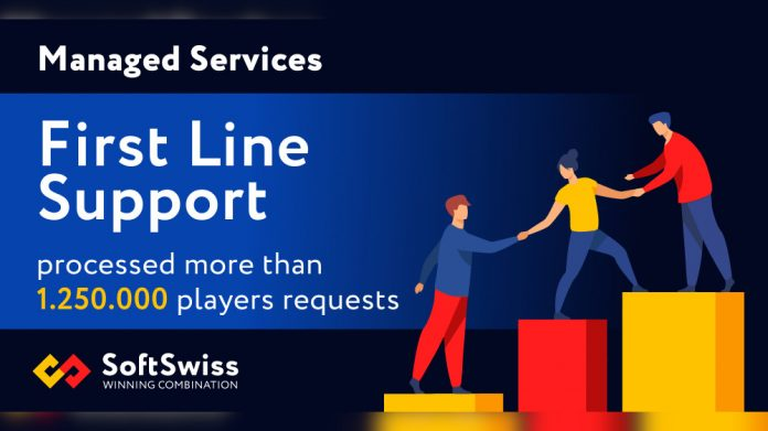 SoftSwiss First line support Managed Services