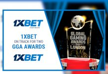 1xBET shortlist Global Gaming Awards