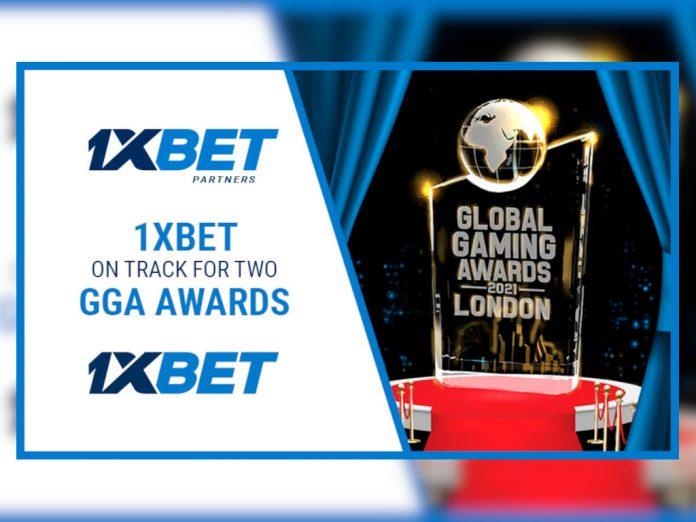 1xBET shortlist Global Gaming Awards