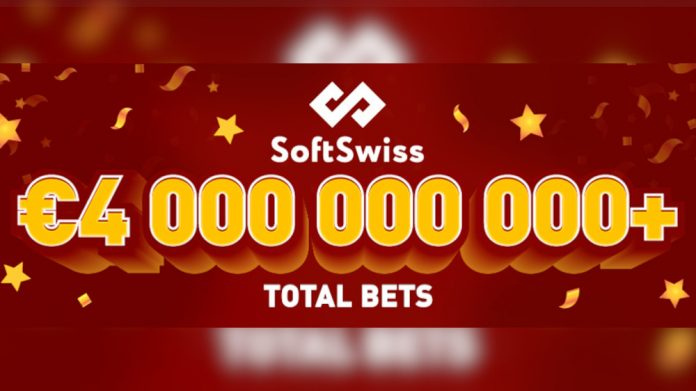 SoftSwiss 4bn total bets