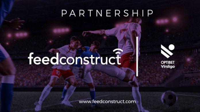 FeedConstruct Optibet Virsliga partnership