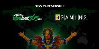 BGaming Tipobet365 partnership