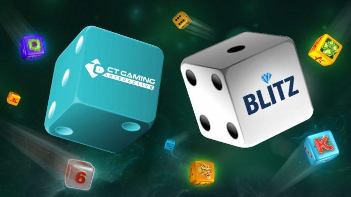 CT Gaming Interactive Blitz casino integration