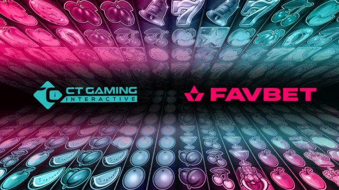 CT Gaming Interactive Favbet partnership