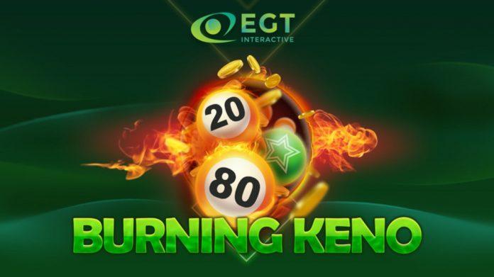 EGT Interactive Burning Keno