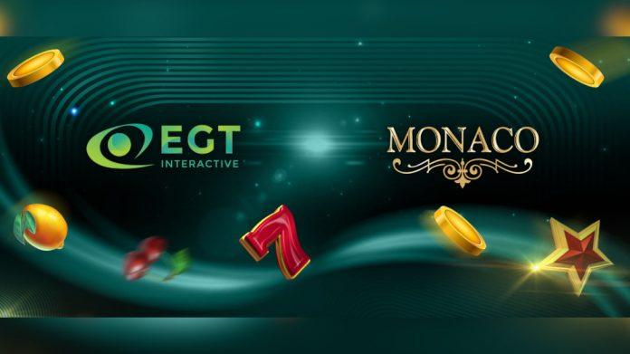 EGT Interactive Monacobet partnership