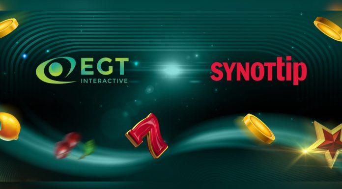 EGT Interactive partnership SYNOT