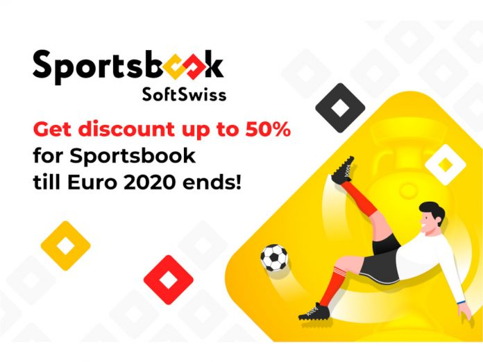 SoftSwiss Sportsbook Euro 2020 discount offer