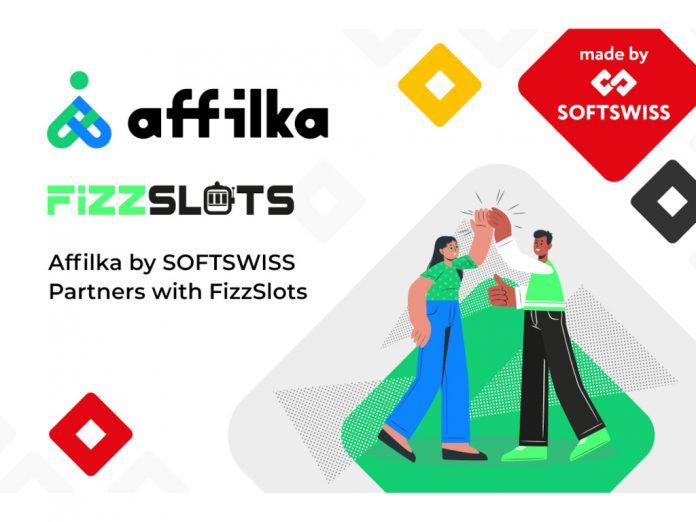 Affilka SOFTSWISS Fizzslots partnership