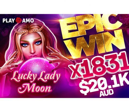 BGaming Lucky Lady Moon Big Win