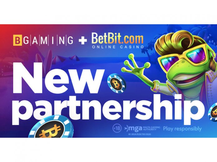 BGaming goes live BetBit