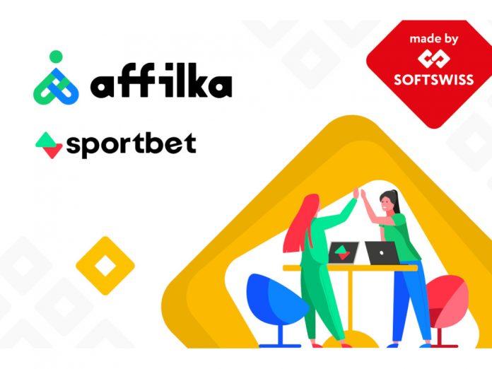 SOFTSWISS Affilka Sportbet