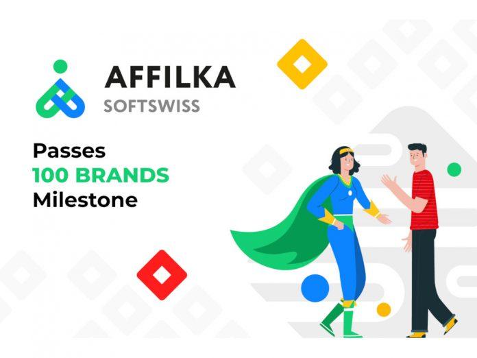 SOFTSWISS Affilka passes 100 brands affilate marketing
