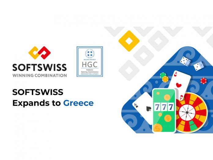 SOFTSWISS expands to Greece