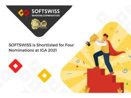 SOFTSWISS shortlisted for four awards IGA 2021