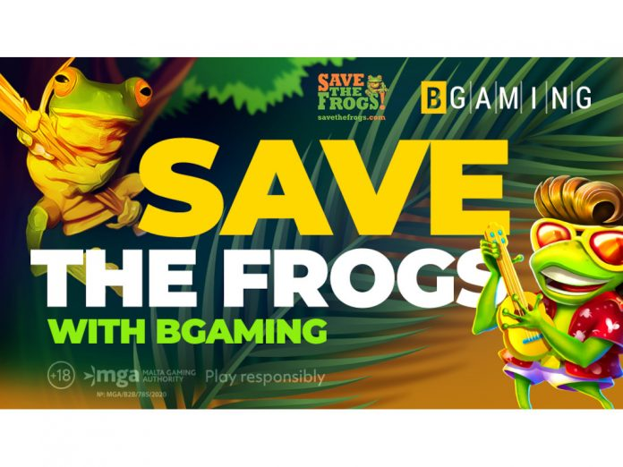BGaming Save the Frogs