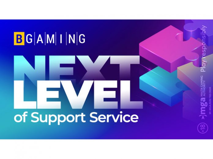 BGaming next level B2B support service