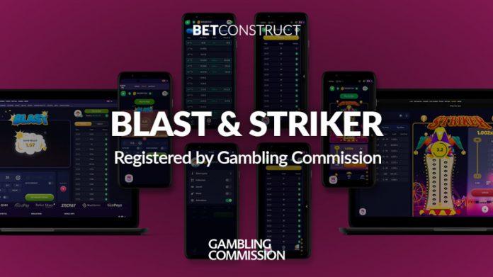 BetConstruct Blast Striker UKGC Licence