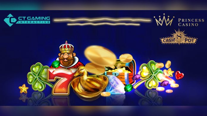 CT Gaming Interactive Princess Casino content partnership