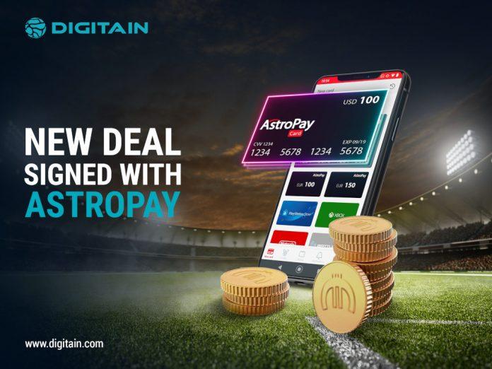 Digitain AstroPay Marketing partnership