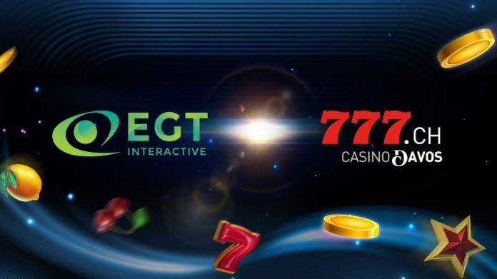 EGT Interactive Casino Davos AG partnership