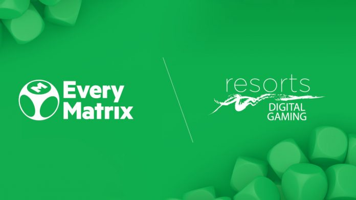 EveryMatrix Resorts Digital Gaming agreement
