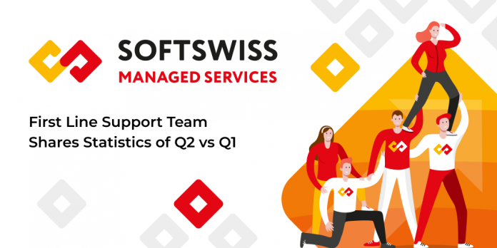 SOFTSWISS first line support stats