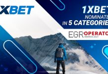 1xBet EGR Operator Awards nominations