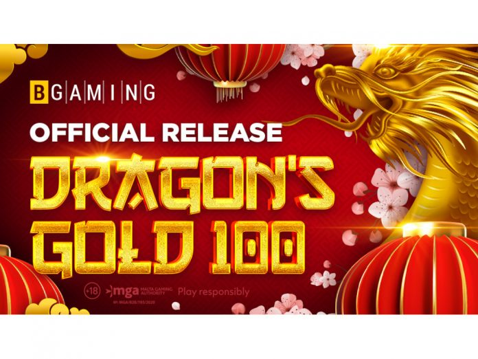 BGaming Dragons Gold 100 new release