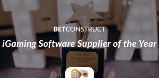 BetConstruct iGaming Software Supplier of the year iGA