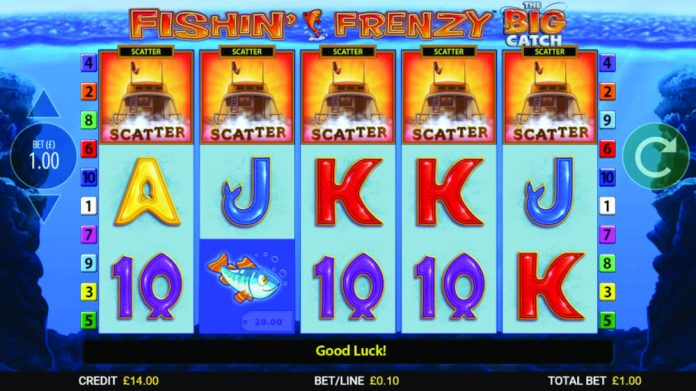 Blueprint Gaming Fishin' Frenzy The Big Catch