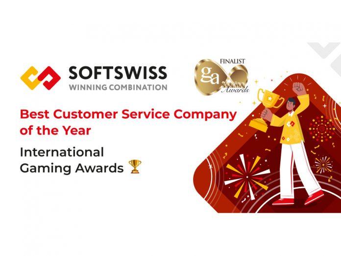 SOFTSWISS IGA awards 2021