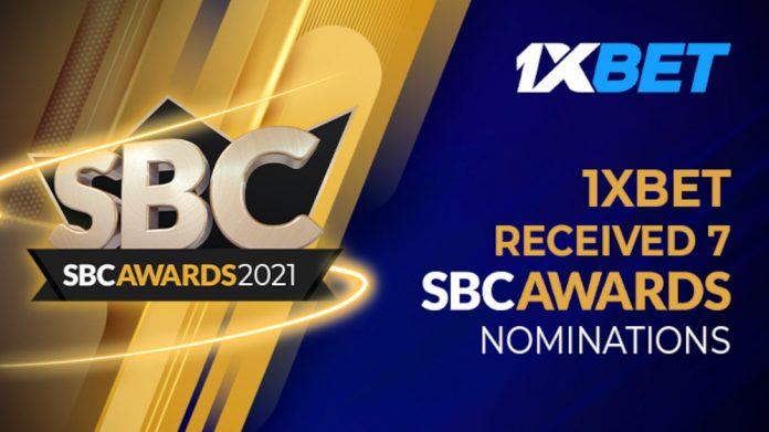 1xbet 7 sbc awards 2021 nominations