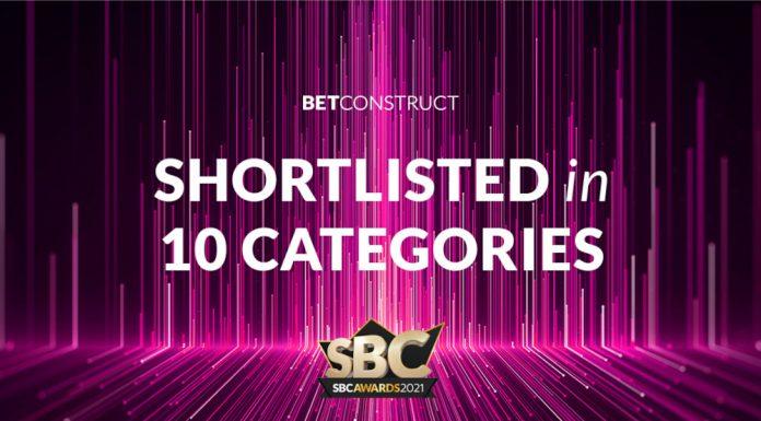 BetConstruct Shortlisted 10 categories SBC Awards