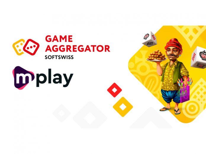 SOFTSWISS Game Aggregator partnership Mplay Games